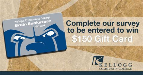 Win Gift Cards For Surveys - take our current or prospective student survey for a chance to win a gift card kcc