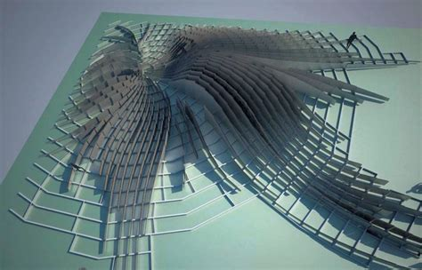 Courtyard Design by Twirl Contemporary Installation Zaha Hadid Architects