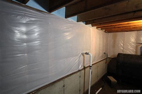 basement wrap finishing the basement insulation