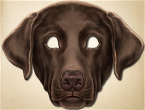 printable mask of a dog printable animal masks animal masks for kids the