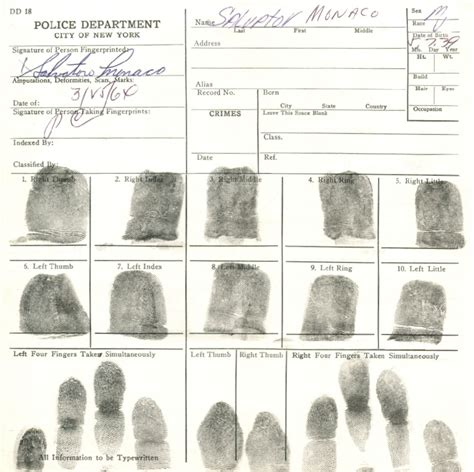 fingerprint template for court records for nyc youth homicides new york city