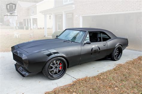 Amir Totem's 1967 Vengeance Camaro: New Digs but Here to