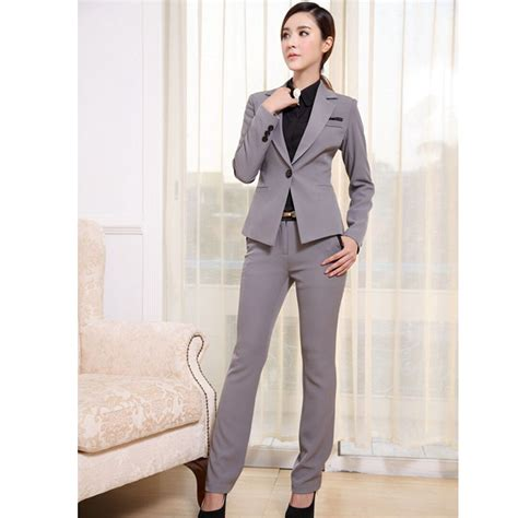 female working suits 2015 women suits blazer with pants new 2015 formal office