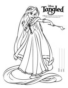 disney tangled coloring pages printable rapunzel colouring pages black white disney