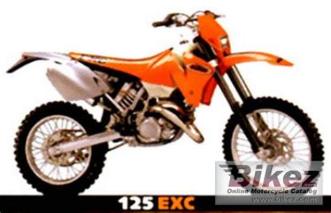 Ktm Exc 125 For Sale 2001 Ktm 125 Exc Specifications And Pictures