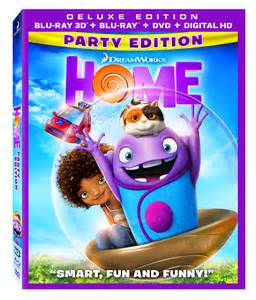 home dvd dreamworks animation s home 3d dvd and