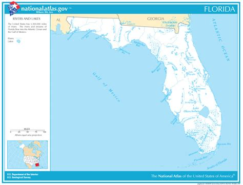 florida lakes map images search