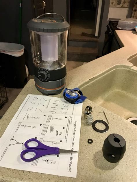 rv faucet replacement tutorial faucet replacement