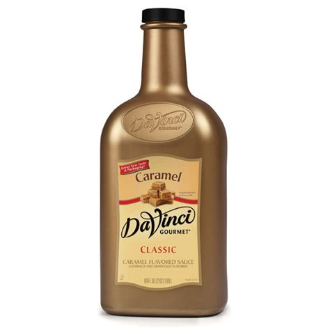 Davinci Butterscotch Sauce davinci syrups caramel sauce 1 2 gallon bottle one gallon bottle baristaproshop