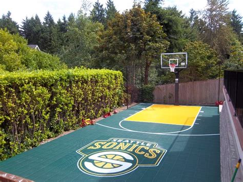 backyard sport court backyard sport court traditional home gym seattle by sport court of washington