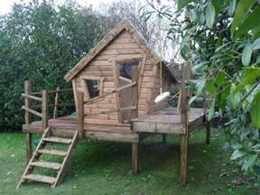 Backyard Climbing Structures by Forest Crooked Playhouse Enchanted Creations Playhouses