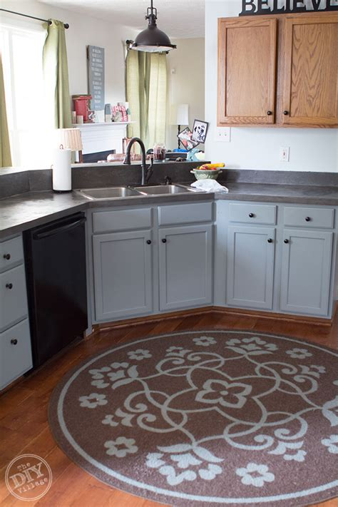 lower kitchen cabinets budget friendly cabinet makeover the diy village