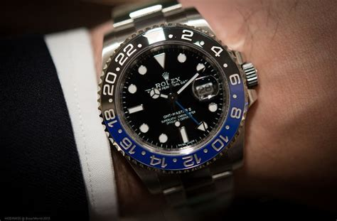 Hands On: With The Rolex GMT Master II Reference 116710BLNR With Blue And Black Cerachrom Bezel