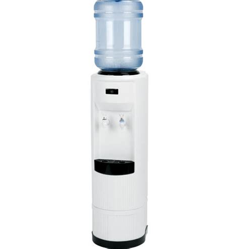 room temperature water cooler ge 174 cold and room temperature free standing water dispenser gxcf03kww ge appliances