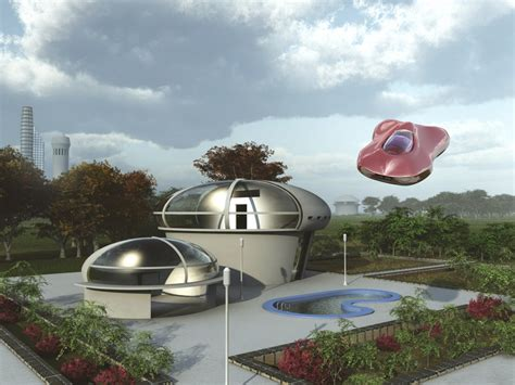 Back to the Future: Futuristic Homes of 2015   ZING Blog