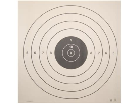 printable paper rifle targets nra official high power rifle targets sr 200 yard slow