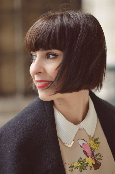 how to do quirky hairstyles bobs brooke d orsay and blunt bangs on pinterest