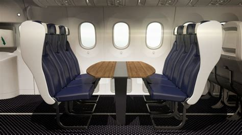 Thomson Airways Interior by New Plane Design Is Only For Families That Actually Like