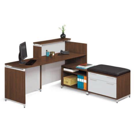 align multi level reception l desk ren 10529
