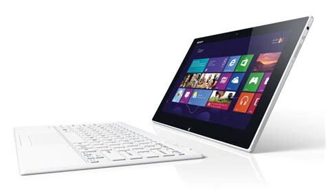 Tablet Sony Vaio 11 sony vaio tap 11 tablet e notebook 2 in 1 per chi ha