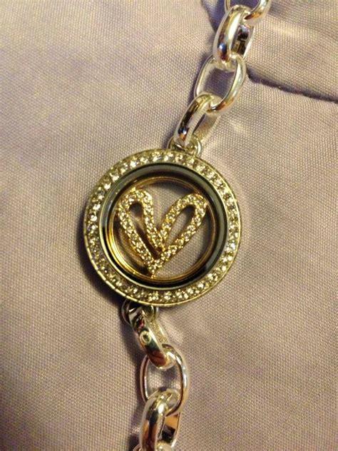 Origami Owl Link Locket - origami owl gold link locket bracelet