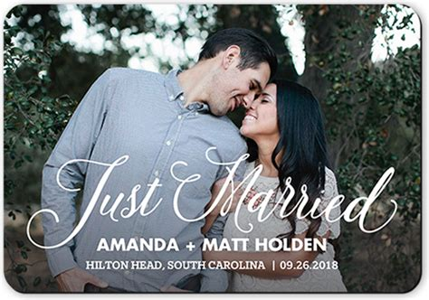 Wedding Announcement Script by Special Moment Script Wedding Announcement Cards Shutterfly