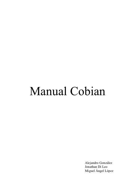MANUAL COBIAN