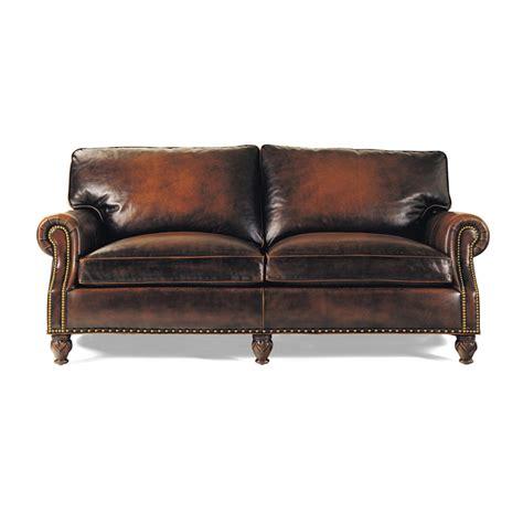 hancock moore sofa hancock and moore 4106 member apartment size sofa discount