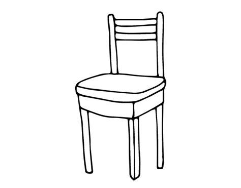 dessin de chaise coloriage de chaise pour colorier coloritou com