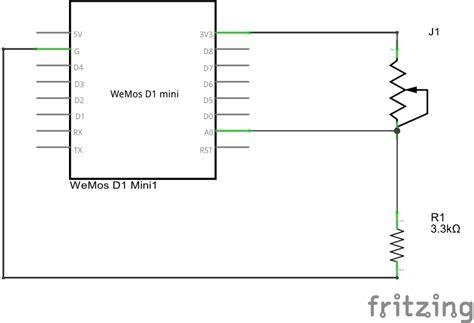sensitive resistor ink esp8266 and sensitive resistor exle esp8266 learning