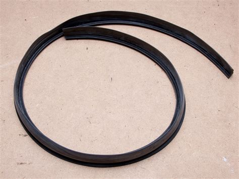 t section rubber seal t section rubber bonnet seal below windscreen ford