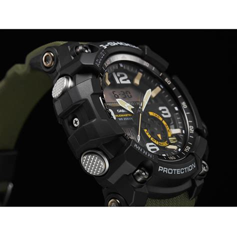 G Shock Black List Green by Casio G Shock Gg 1000 1a3 Mudmaster Mens Green
