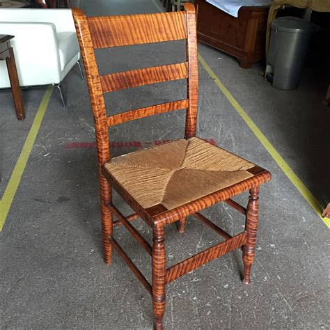 tiger chair american tiger maple chair c 1800 vintage