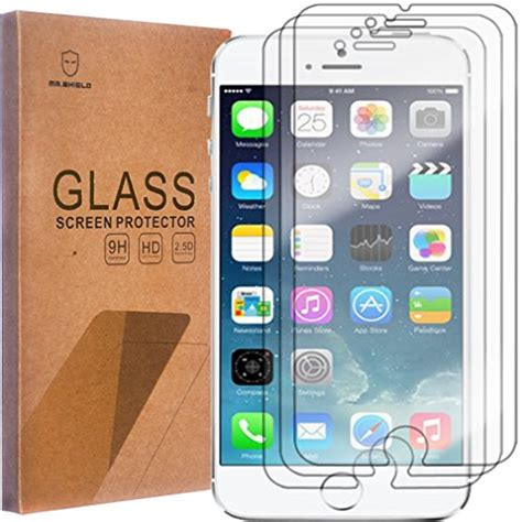 Sale Smart Screen Protector For Iphone 6 Iphone 6 3 pack mr shield for iphone 6 iphone 6s tempered glass screen pr