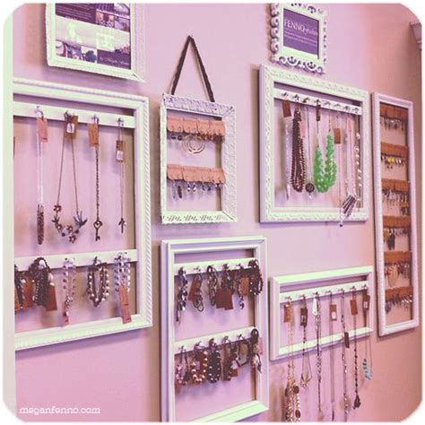 diy jewelry display diy picture frames turned jewelry displays tutorial