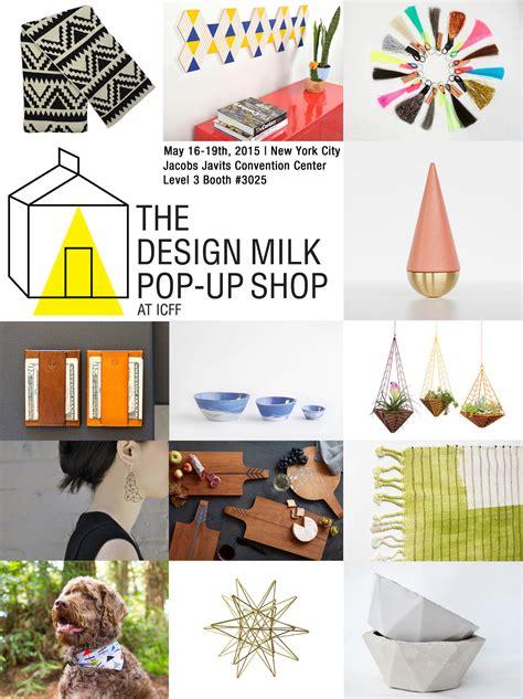 milk design shop online reminder dm pop up shop icff adorn milk at