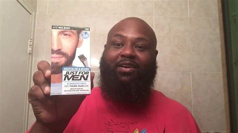 how to remove just for men hair color just for men beard dye youtube