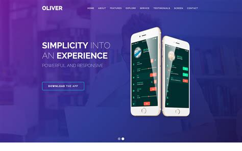 App Website Template by App Website Templates Available At Webflow