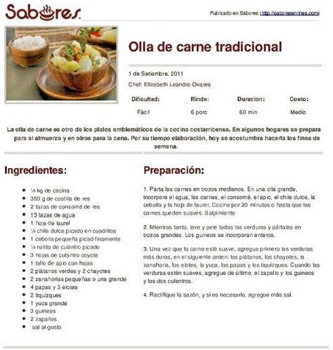 persiana recetas de oriente 8416295042 36 best images about recetas costarricenses costa rican recipes on