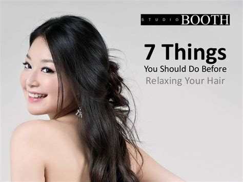 7 Did You Things You Should by 7 Things You Should Do Before Relaxing Your Hair