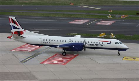 Bã Robedarf Deutschland by Ba City Flyer G Cdeb C N036 Saab 2000 11 04 2015 Dus