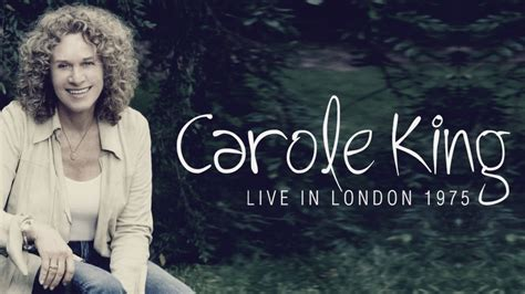 where does carole king live dvd carole king quot live in london 1975 quot completo quot oficial