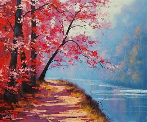 imagenes bonitas para dibujar en lienzo im 225 genes arte pinturas l 225 minas de paisajes naturales para