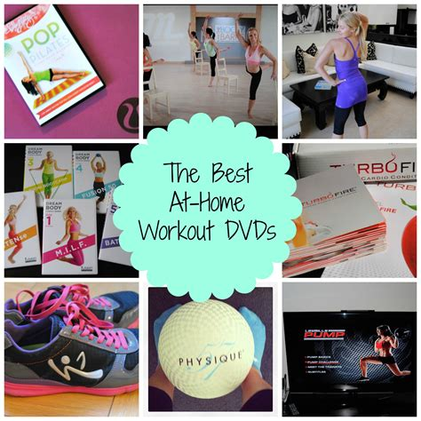 top at home workout dvds in 2013 my own balance