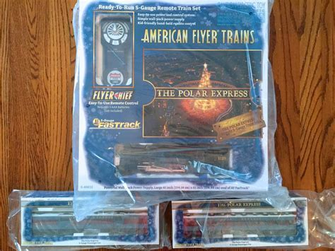 Flyer Chief Polar Express sets and add on cars shipping