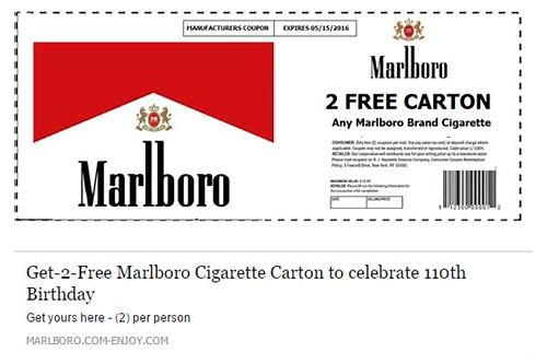 printable coupons for marlboro cigarettes