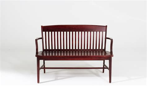 courtroom benches 48 quot w x 18 quot d mahogany courtroom bench ben007191 arenson