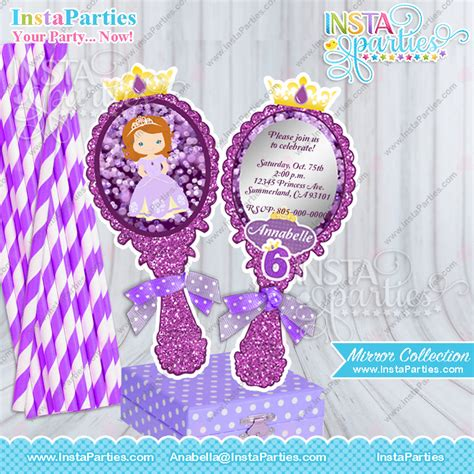 Princess Sofia Decorations by Princess Sofia Centerpieces Birthday Sofia