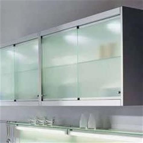 sliding kitchen cabinet doors   clear  white