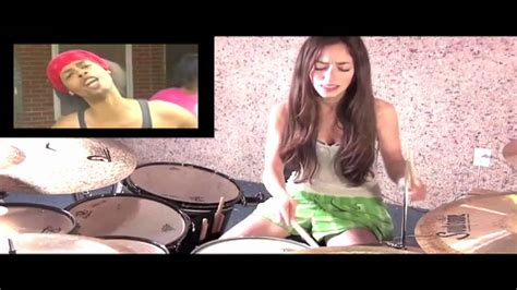 Bed Intruder Drum Cover Bed Intruder Song Drum Cover By Meytal Cohen